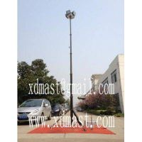 6m Portable tripod telescopic lighting mast