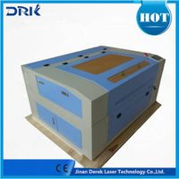 China 1390 1610 derek co2 glass laser engraving for acrylic plywood pvc leather 100w cnc laser cutti