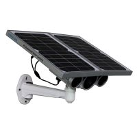 p2p 720p star night vision energy saving Onvif built-in 16G TF card wifi solar power ip camera with
