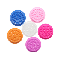 Private Label Light Weight Plastic Disposable False Eyelash Adhesive Glue Holder Tray With Sticker F thumbnail image