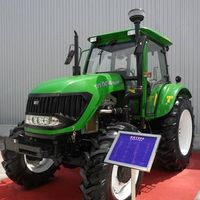 100hp 4wd farm tractor with JpV clutch