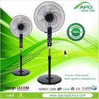 """20 years 16""""standing fan with remote"""
