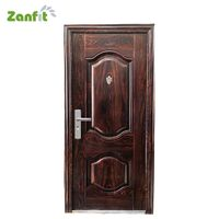 Zanfit 5D color heart transfer steel entry doors