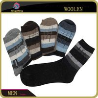 Patterned men's Wool Socks from china socks factory
