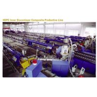 HDPE Inner Siuconlayer Composite Production Line