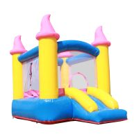 PVC0.55mm inflatable jumping castle party rental funny inflatable bouncy castle