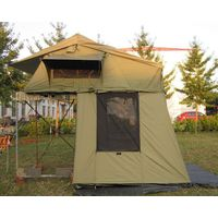 Stock roof top tent with extension thumbnail image
