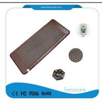 Popular Stone body pain relief tourmaline infrared mat heat healing mattress