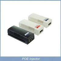 30W 10/100/1000M 48V output IEEE 802.3at Compliant standard Single Port PoE output Injector thumbnail image