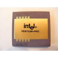 INTEL PENTIUM PRO Ceramic gold CPU for Scrap Gold Recovery / Precious metals