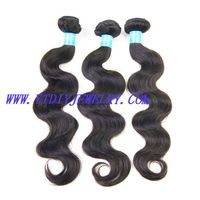 Peruvian virgin hair body wave ,100% human hair can be dyed.