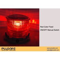 Low Intensity Type B Solar Obstruction Lighting LED ICAO Compliant Red Fixed thumbnail image