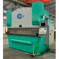 CNC hydraulic press brake for sheet metal