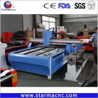 Hot Sell CNC Plasma Cutting Machine with rotary axis