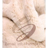 100% POLYESTER cony hair/rabbit faux fur/fake fur