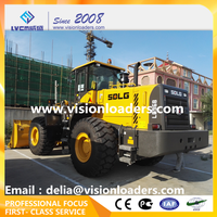 SDLG LG968 wheel loader 6ton L968F loader Made in Shandong Linyi City