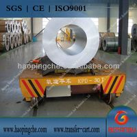 battery power coil transfer car