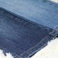 Silver Wire Denim FabricJacquard Denim Fabric price