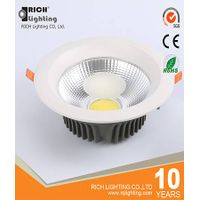 China round recessed led down lights 30w with 3 years warranty