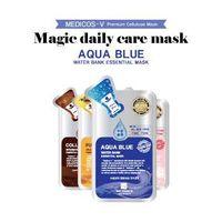 [KOREA COSMETIC] MEDICOS-V Magic Daily Care Mask Aqua Blue
