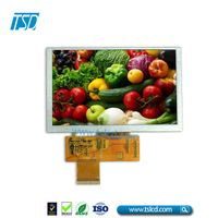 TSD TSLCD 5.0 inch tft lcd screen with touch