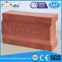 Refractory acid resistant brick