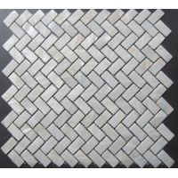 Pure white mother of pearl shell mosaic tiles