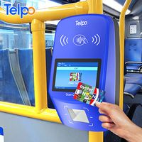Telpo nfc card reader android point of sales terminal bus validator with qr code thumbnail image