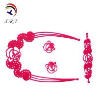 Fashionable Hollow Silicone Necklace
