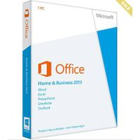 MS Office 2013 Home and Business Genuine Key/Code