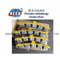 Train Powder Metallurgy Brake Shoe