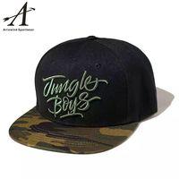 New Fashion Flat Brim Snap Back with Custom Embroidery snapback Hat