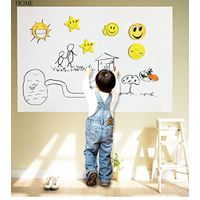 Whiteboard Sticker for Kids Dry Erase Whiteboard Wall Decal Peel & Stick Message Removable Board