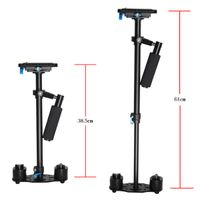 YELANGU 61cm Aluminium Camera Stabilizer S60L Portable Support Phone DSLR DV Camcorders
