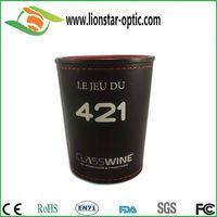 Leather custom logo dice cup thumbnail image