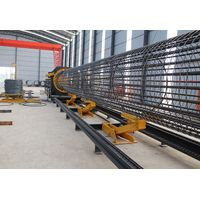 Steel rebar welded pile cage making machine manufacture LYGH-3000 thumbnail image