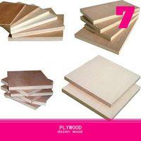 okoume face/back plywood
