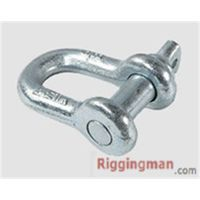 RIGGING HARDWARE ROUND PIN ANCHOR SHACKLE U.S TYPE,drop forged