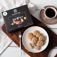 Jeju Cookie set(Tangerine+Buckwheat+Green Tea+Purple yam)