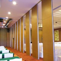 Office Partitions Aluminum Frame Sliding Wall for Conference Room