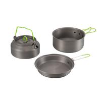 Popular Aluminum Travel Cooking Set Military Dinnerware Set