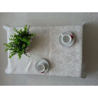 100% polyester yarn-dyed table cloth thumbnail image
