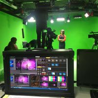"HD ""Mtv Style"" Music Video Recording Studio Green Screen Karaoke Vending Machine / Magic Carpet Ride"