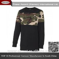 2015 mens crew neck design fleece jacket