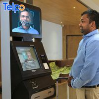 Telpo TPS717 RFID pinpad android ticket vending machine tablet lobby kiosk devices with printer