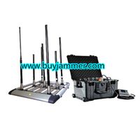 300W 4 to 8 bands High Power Drone Jammer up to 1500m