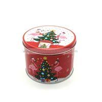 Wholesale custom christmas gift tin box packaging for cookies thumbnail image