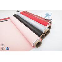 Fireproof 530g 0.45mm Silicone Fiberglass Fabric thumbnail image