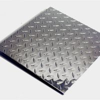 embossed diamond aluminum plate sheets for elevator construction