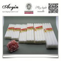 China candle factory supplies cheap white candles